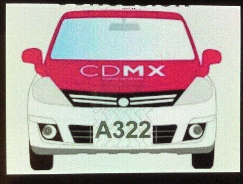 Venta de placas de taxi tipo A