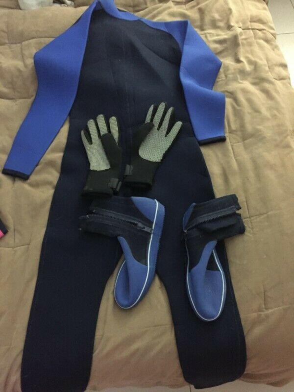 kit de trajes de neopreno