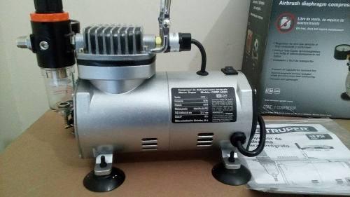 Compresor Para Aerógrafo,libre De Aceite. + Envio Gratis
