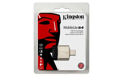 Kingston Lector Tarjetas Sd Portatil Usb 3.0 Multifuncional
