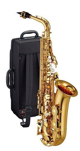 Saxofon Alto Yamaha Yas 280 Llave De Fa# Y Fa Frontal Msi