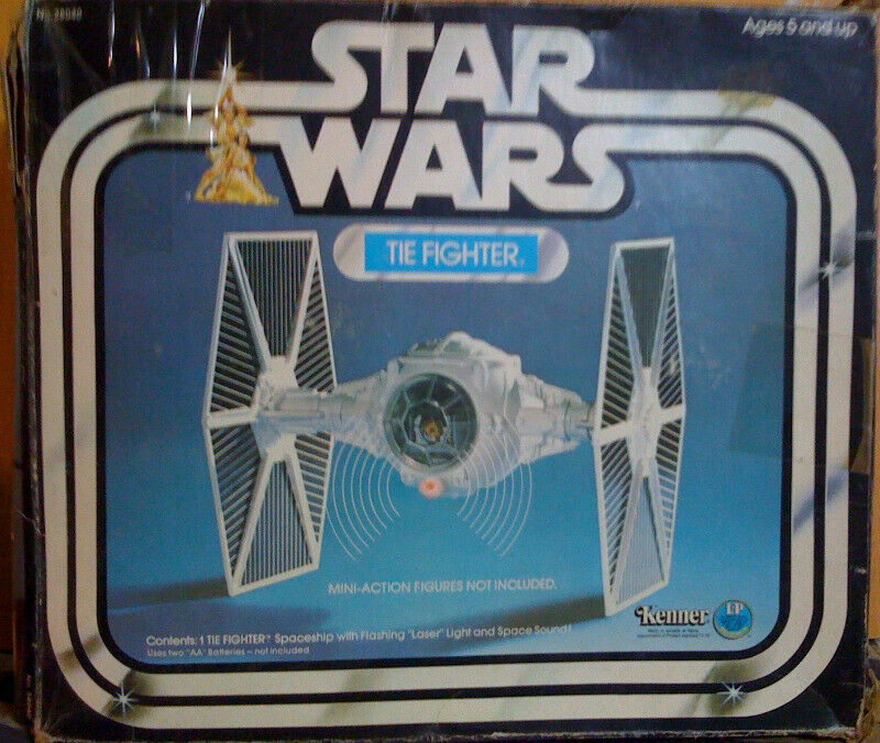 TIE FIGHTER NAVE STAR WARS KENNER VINTAGE