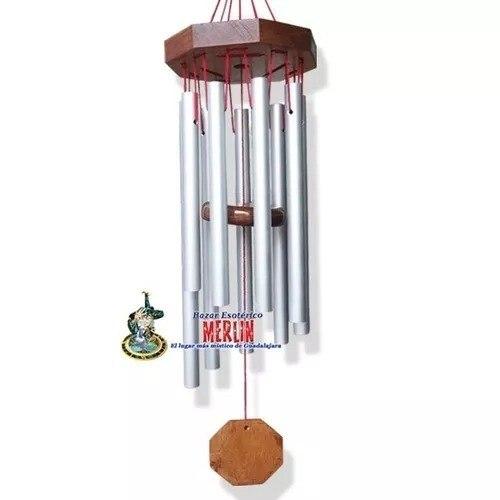 Wind Chime - Campana De Viento De 9 Tubos 60 Cms