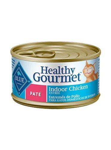 15 Blue Buffalo Lata Gato Adulto Pate Indoor Chicken.85kg