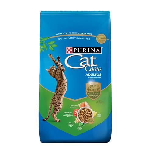 Alimento Para Gato Cat Chow Salmon Y Pollo 7.5 Kg