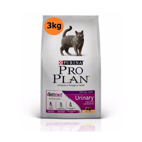 Alimento Purina Pro Plan Gato Urinary Croquetas 3kg C/envío