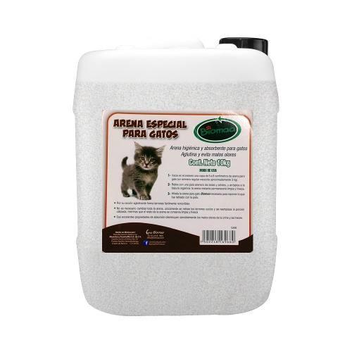 Arena Para Gatos Biomaa 40kg (cama Sanitaria)