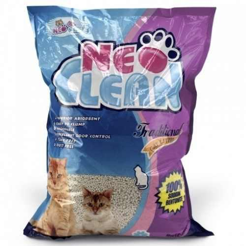 Arena Para Gatos Neo Clean 5 Libras Olor Lavanda Mascotas