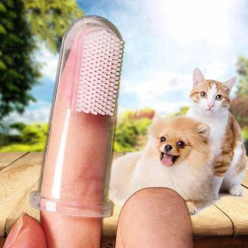 Cepillo De Dientes Para Perros Mascotas Ultra Suave