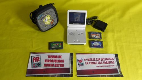 Consola Nintendo Gameboy Advance Sp Para El Día Del Padre