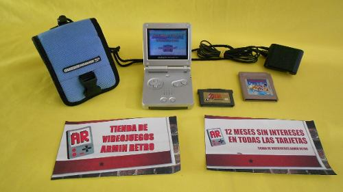 Consola Nintendo Gameboy Advance Sp *gris* El Día Del Padre
