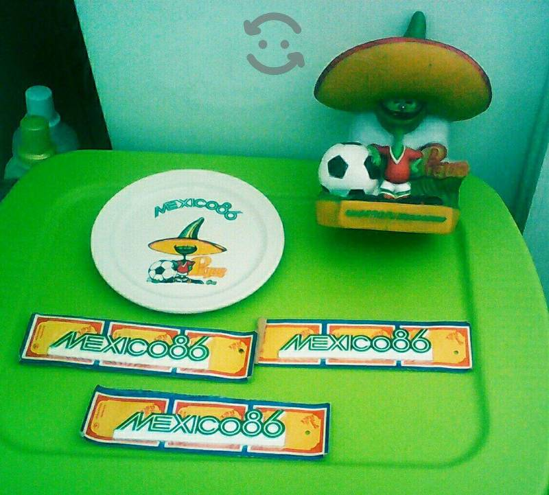 Futbol mundial Mexico 86