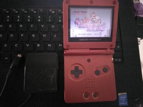 Game Boy Advance Sp Con Juego 160 In 1 Con Cargador