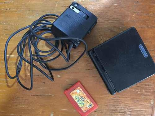 Game Boy Advance Sp Con Pokemon Rojo Fuego Y Cable De Luz