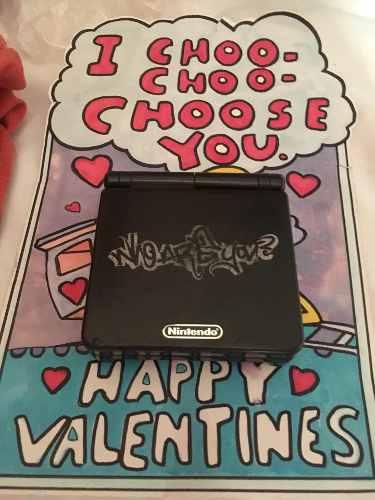 Game Boy Advance Sp Who Are You Edición Especial Gameboy