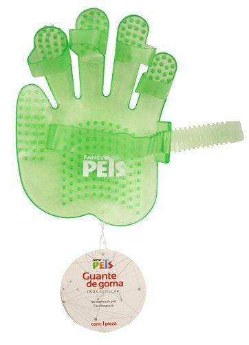 Guante De Goma P/ Almohazar Peine Cepillo P/ Perro Fl8317