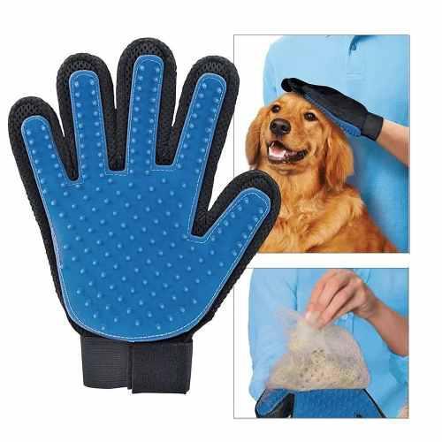 Guante Quita Pelos Cepillo Mascotas Perro Gato Cachorro