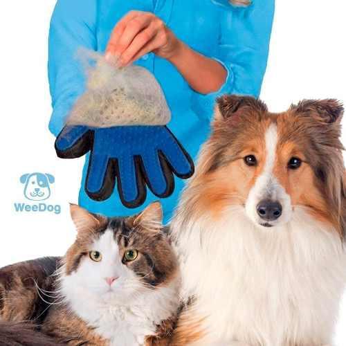 Mascotas Cepillo Guante Atrapa Pelo Para Perro/gato + Envío