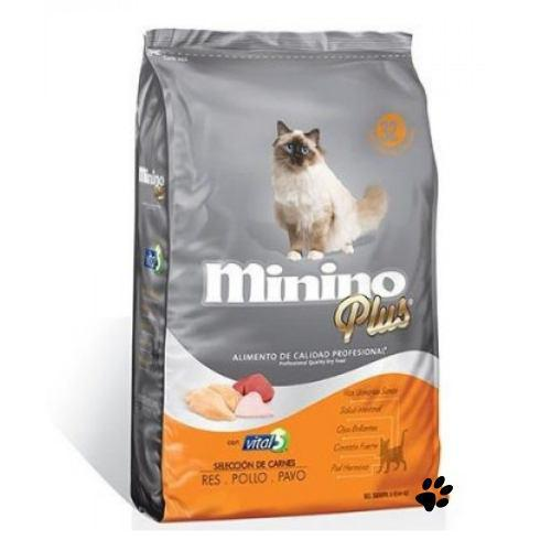 Minino Plus 10kg Alimento Para Gato:)