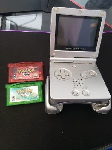 Pokemon Ruby Y Emerald + Gamrboy Advanced Spde Regalo