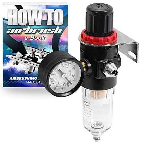 Regulador Del Compresor De Aire Del Aerografo Pointzero Con