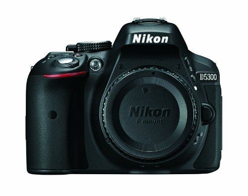 Nikon D Mp Cmos Digital Slr Camera With Built-in Wi