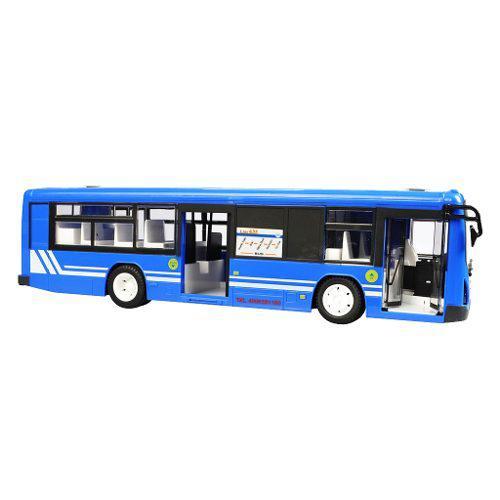 1:12 Bus De Control Remoto A Batería Con Luz Y Sonidos Par