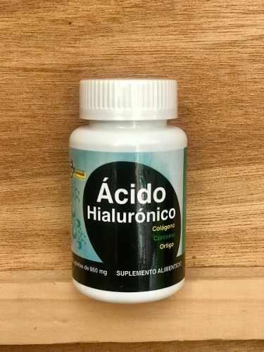4 Pz Acido Hialuronico Colageno Curcuma Y Mas Para Tu Salud