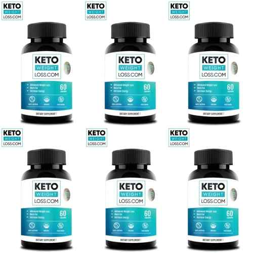 6 Frascos Keto Weight Loss.com Originales 6kv