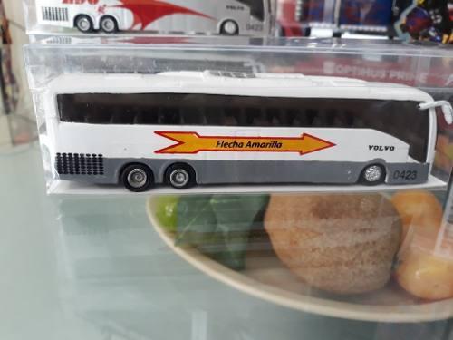 Autobus 1:54 Plastico Llantas De Goma Perdonalizado