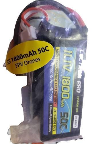 Bateria Lectron 11.1v 1800 Mah 50c Conector Traxxas 1/16