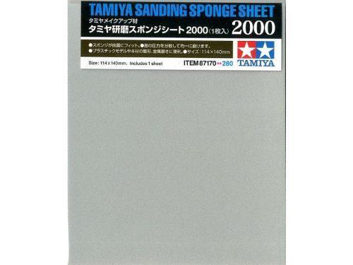 Lija De Esponja #2000 Tamiya 87170 Modelismo Colibri