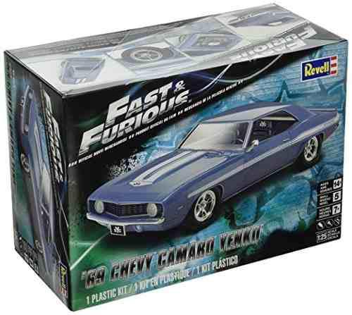 Revell Kit De 69 Chevy Camaro Yenko Modelo Fast & Furious