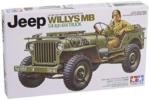 Tanques Y Kits De Artilleríatamiya 0135 Jeep Willys Mb 14..