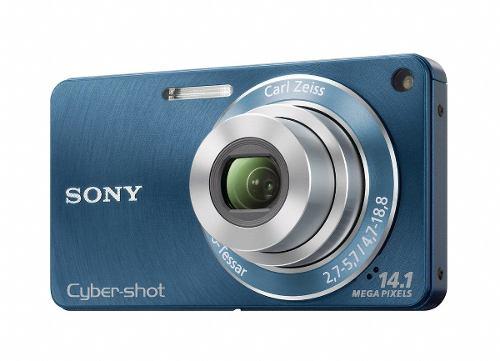 Cámara Digital Sony Dsc Wmp Con Zoom Gran Angular D
