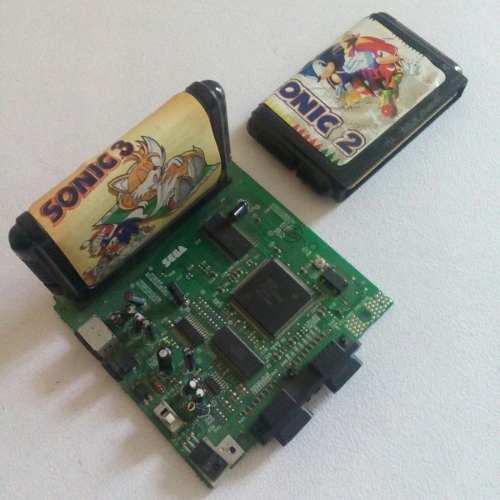 Consola Sega Genesis 3 Original + Sonic 2 + Sonic 3