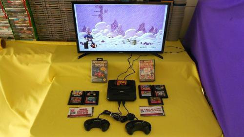 Consola Sega Genesis 9 Juegos Para El Día Del Padre