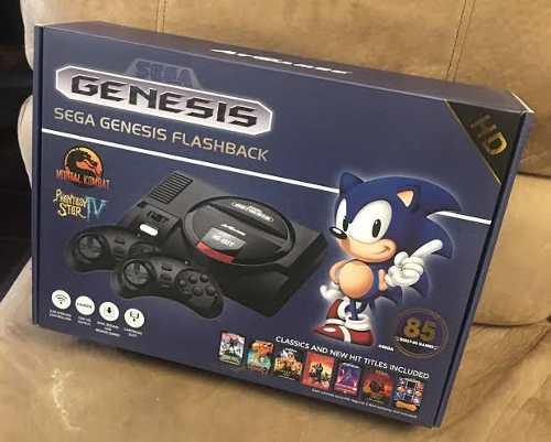 Consola Sega Genesis Flashback Como Nueva, Con 85 Juegos