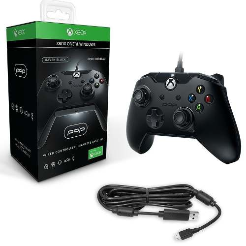 Control Xbox One Pc Xbox1 Negro Original Cable Pdp Hot Sale