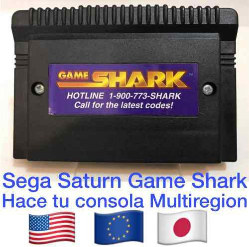 Game Shark Para Consola Sega Saturn Inter Act Multiregion