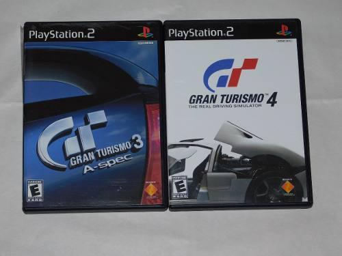 Gran Turismo 3 & 4 Ps2, Juegos Playstation 2, Retro Gran Tm