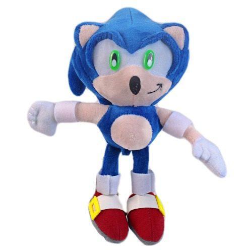 Nuevo Peluche Sonic Sega Gamer Defectuoso Erizo 25 Cm