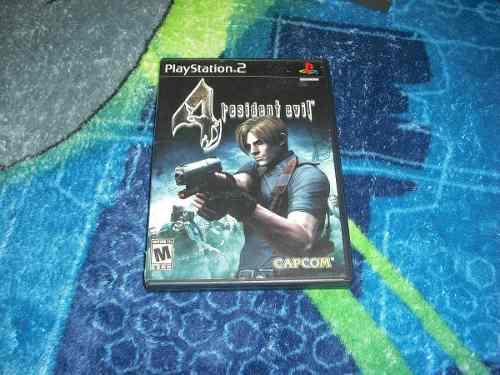 Resident Evil 4 En Muy Buen Estado Para Ps2