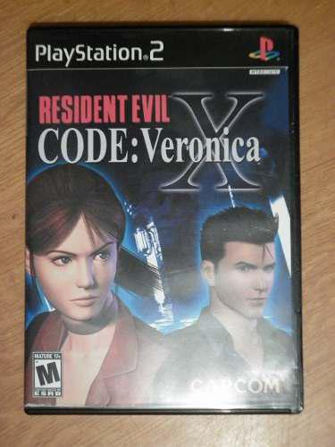 Resident Evil Code Veronica X Para El Play Station 2