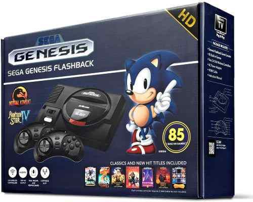 Sega Genesis Flashback Hd 2017 Consola Con 85 Juegos