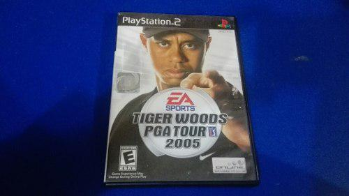 Tiger Woods Pga Tour 2005 Juego Para Playstation 2 Ps2