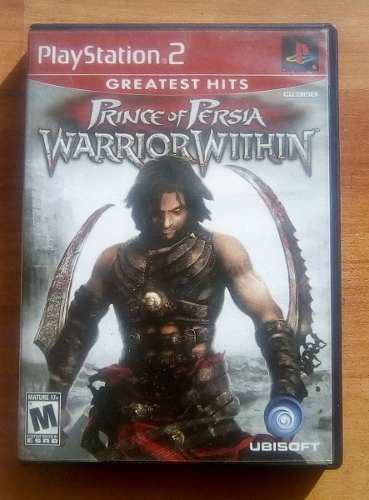 Videojuego Prince Of Persia, Warrior Within, Para Ps2