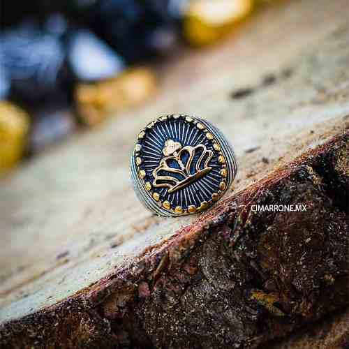 Anillo Corona Circular Sello Acero Inoxidable 316l