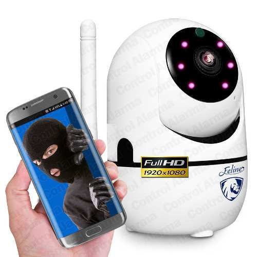 Camara Ip Wifi Fhd p Seguridad Rastreo Espia Dvr 128gb