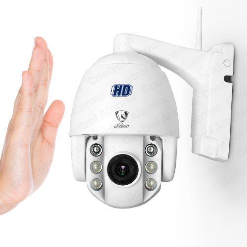 Camara Ip Wifi Mini Domo 1.3mpx Audio 360°exterior Dvr